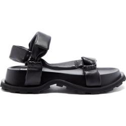 Jil Sander - Padded Nappa-leather Flatform Sandals - Womens - Black found on Bargain Bro UK from Matches UK