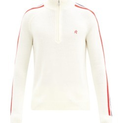 Perfect Moment - La Tour Iv Half-zip Merino-wool Sweater - Mens - White found on Bargain Bro Philippines from Matches Global for $230.00