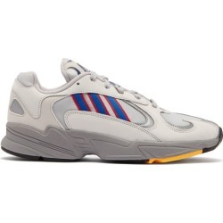 Adidas Originals - Yung 1 Mesh And Nubuck Low Top Trainers - Mens - Grey found on MODAPINS from Matches Global for USD $97.00