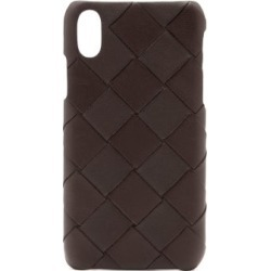 Bottega Veneta - Intrecciato Leather Iphone Xs Case - Womens - Brown found on Bargain Bro Philippines from Matches Global for $450.00