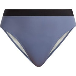 Solid & Striped - The Alexa High Rise Bikini Briefs - Womens - Light Blue found on Bargain Bro UK from Matches UK