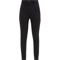 Ann Demeulemeester - Pintucked Wool-blend Twill Trousers - Womens - Black found on MODAPINS from Matches Global for USD $552.00