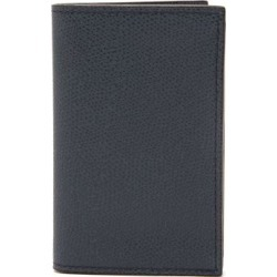 Valextra - Grained-leather Wallet - Mens - Navy found on Bargain Bro UK from Matches UK