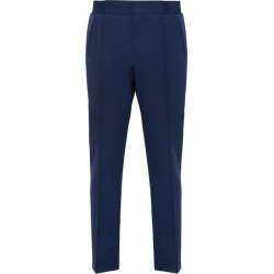Berluti - Straight Leg Wool Trousers - Mens - Blue found on MODAPINS from Matches UK for USD $916.14