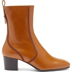 Chloé - Goldee Leather Ankle Boots - Womens - Tan found on Bargain Bro UK from Matches UK
