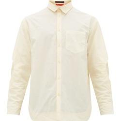 Eckhaus Latta - Elbow-cutout Shirt - Mens - Cream found on Bargain Bro India from MATCHESFASHION.COM - AU for $202.46