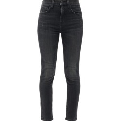Nili Lotan - Slim-leg Distressed Jeans - Womens - Black found on MODAPINS from Matches Global for USD $225.00