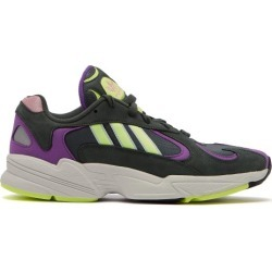 Adidas Originals - Yung 1 Mesh And Nubuck Low Top Trainers - Mens - Green found on Bargain Bro UK from Matches UK for $67.99
