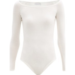 Gabriela Hearst - Klara Boat-neck Merino Wool-blend Bodysuit - Womens - Ivory found on Bargain Bro UK from Matches UK
