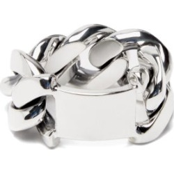 Bottega Veneta - Curb-link Sterling-silver Ring - Womens - Silver found on Bargain Bro UK from Matches UK
