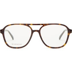 Givenchy - Aviator-style Acetate Optical Glasses - Womens - Tortoiseshell found on Bargain Bro Philippines from MATCHESFASHION.COM - AU for $150.97