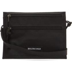 Balenciaga - Explorer Logo-patch Nylon-canvas Crossbody Pouch - Mens - Black found on Bargain Bro UK from Matches UK