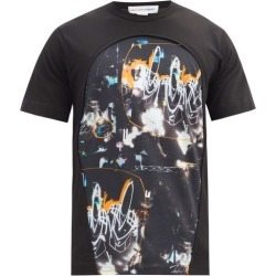 Comme Des Garçons Shirt - X Futura Printed Cotton-jersey T-shirt - Mens - Black found on MODAPINS from Matches UK for USD $121.26