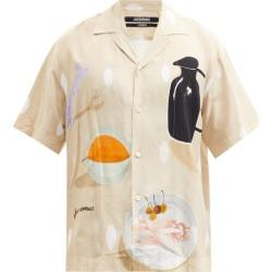Jacquemus - Jean Still Life-print Poplin Shirt - Mens - Beige found on Bargain Bro UK from Matches UK