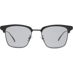 Bottega Veneta - Square Metal Sunglasses - Mens - Black found on Bargain Bro from Matches Global for USD $334.40