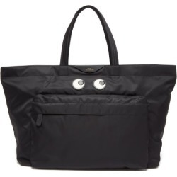 Anya Hindmarch - Eyes Large Tote Bag - Womens - Black found on MODAPINS from Matches Global for USD $650.00