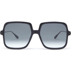 Dior Eyewear - Diorlink Oversized Square Acetate Sunglasses - Womens - Black found on Bargain Bro UK from Matches UK