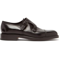 John Lobb - William Monk Strap Leather Shoes - Mens - Black found on MODAPINS from Matches Global for USD $1495.00
