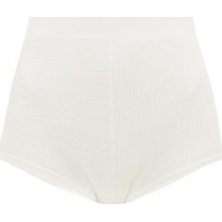 Sir - Annika High-waisted Ribbed-jersey Briefs - Womens - Ivory found on Bargain Bro India from Matches Global for $200.00