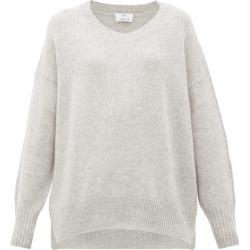 Allude - Oversized Cashmere Sweater - Womens - Light Grey found on MODAPINS from Matches Global for USD $287.00