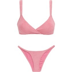 Lisa Marie Fernandez - Yasmin Cotton-blend Terry Bikini - Womens - Pink found on MODAPINS from Matches UK for USD $175.28