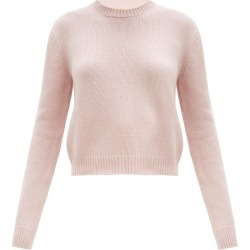 Brock Collection - Crew-neck Cashmere Sweater - Womens - Light Pink found on MODAPINS from MATCHESFASHION.COM - AU for USD $628.17