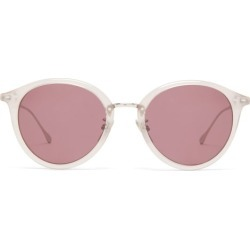 Isabel Marant Eyewear - Windsor Round Acetate Sunglasses - Womens - Nude found on Bargain Bro UK from Matches UK
