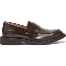 Bottega Veneta - Mocassins en cuir BV Level found on Bargain Bro from matchesfashion.com fr for USD $642.20