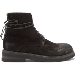 Marsèll - Bottes lacées en daim found on Bargain Bro Philippines from matchesfashion.com fr for $1136.20