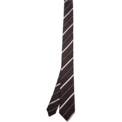 Dolce & Gabbana - Shadow-striped Silk-faille Tie - Mens - Black found on Bargain Bro from Matches UK for £146