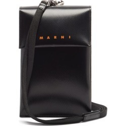 Marni - Logo-print Textured Pvc Micro Bag - Mens - Black found on Bargain Bro UK from Matches UK