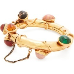 Loewe - Cabochon Chain-drop Cuff - Womens - Gold found on Bargain Bro UK from Matches UK