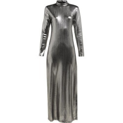 Bella Freud - Radzville Shimmering Maxi Dress - Womens - Silver found on MODAPINS from Matches Global for USD $240.00