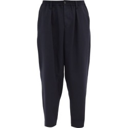 Marni - Straight-leg Tropical-wool Twill Trousers - Mens - Navy found on Bargain Bro from Matches UK for £422