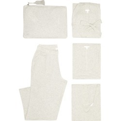Skin - Heather Pyjama Travel Set - Womens - Light Grey found on Bargain Bro India from Matches Global for $370.00