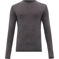 Iffley Road - Dartmoor Merino Wool Top - Mens - Grey found on Bargain Bro Philippines from MATCHESFASHION.COM - AU for $100.80
