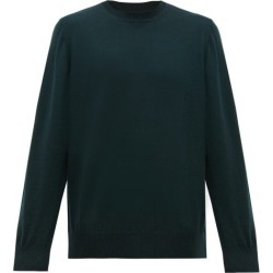Cobra S.c. - Crew-neck Wool Sweater - Mens - Dark Green found on Bargain Bro India from MATCHESFASHION.COM - AU for $145.01