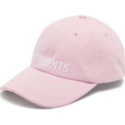 Vetements - X Reebok Logo-embroidered Cotton Cap - Mens - Pink found on MODAPINS from Matches Global for USD $380.00