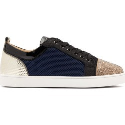 Christian Louboutin - Baskets en résille Louis Junior Strass Orlato found on Bargain Bro India from matchesfashion.com fr for $1553.50