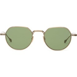 Jacques Marie Mage - Fontana Round Titanium Sunglasses - Mens - Gold found on MODAPINS from Matches Global for USD $737.00