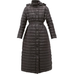 Moncler - Chocolat Quilted-down Coat - Womens - Black found on Bargain Bro India from Matches Global for $1905.00