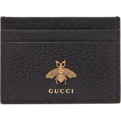 Gucci - Bee-embellished Leather Cardholder - Mens - Black found on Bargain Bro UK from Matches UK