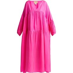 Anaak - Airi Gypsy Silk Dress - Womens - Pink found on MODAPINS from Matches UK for USD $715.39