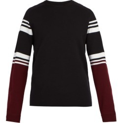 Aztech Mountain - Matterhorn Ski Club Striped Wool Sweater - Mens - Black Multi found on MODAPINS from Matches Global for USD $495.00