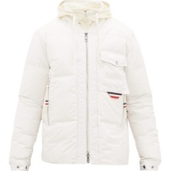 2 Moncler 1952 - Tonal Logo-patch Quilted Down Jacket - Mens - White found on Bargain Bro Philippines from Matches Global for $1835.00