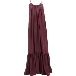 Kalita - Brigitte Habotai-silk Maxi Dress - Womens - Dark Purple found on MODAPINS from Matches UK for USD $639.22