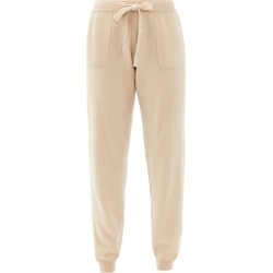 Allude - Drawstring Wool-blend Trousers - Womens - Beige found on MODAPINS from Matches Global for USD $207.00
