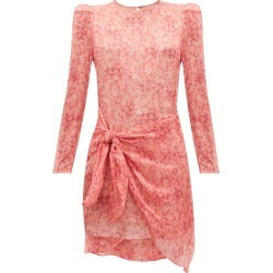 Adriana Degreas - Hydrangea-print Tiered Sun Dress - Womens - Pink Print found on MODAPINS from Matches UK for USD $409.62