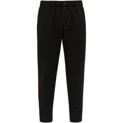 Burberry - Pantalon de jogging en jersey stretch à rayures