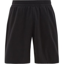 Burberry - Debson Side-stripe Jersey Shorts - Mens - Black
